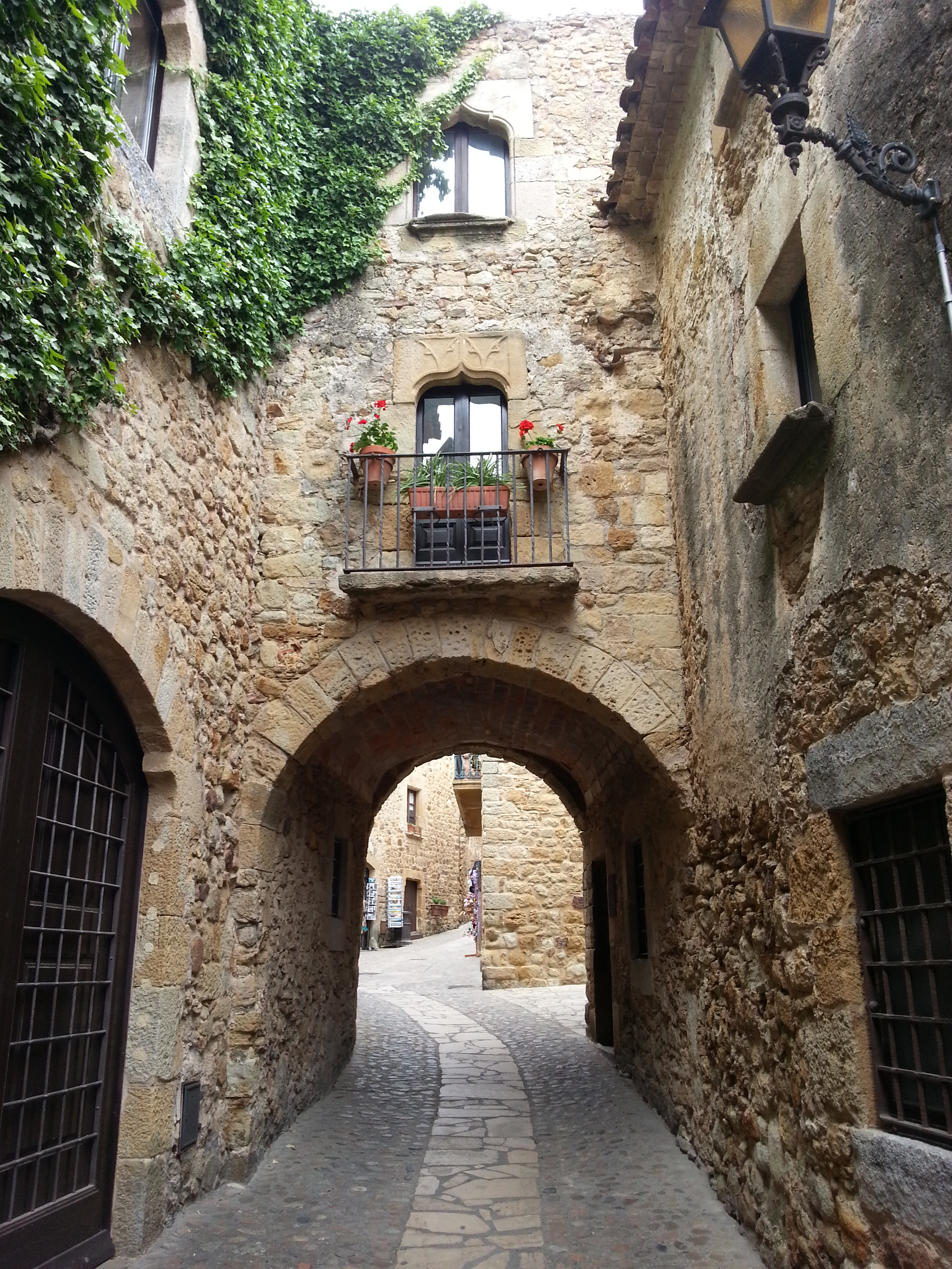 The ancient streets around Pals