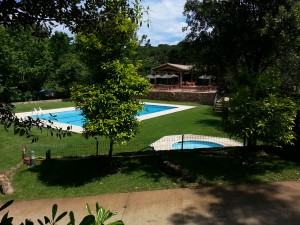 Camping Begur swimming pools